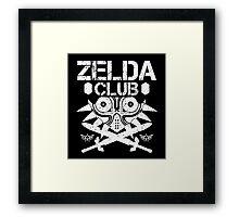 Zelda Club Framed Print