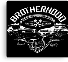 Fast and Furious - Brotherhood Canvas Print