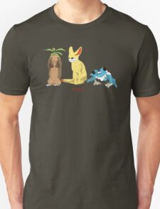 Kalos Starter Pokemon T-Shirt