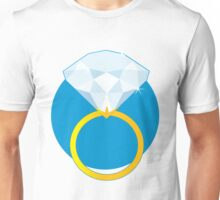 Diamond Ring Unisex T-Shirt