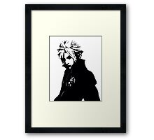 Cloud Strife- Framed Print