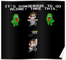 Zelda Ghostbusters Poster