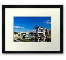 Falkirk Wheel Reflections Framed Print
