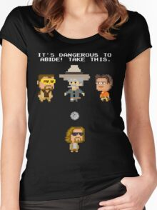 Zelda Lebowski Women's Fitted Scoop T-Shirt