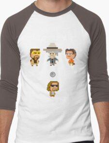 Zelda Lebowski Men's Baseball ¾ T-Shirt