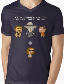 Zelda Lebowski Mens V-Neck T-Shirt