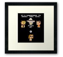 Zelda Lebowski Framed Print