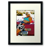 TRUE ROMANCE ALABAMA - You're So Cool ! Framed Print