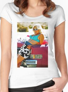 TRUE ROMANCE ALABAMA - You're So Cool ! Women's Fitted Scoop T-Shirt