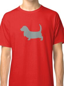 Basset Hound | Dogs | Teal Classic T-Shirt