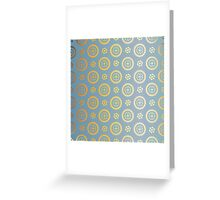 Blue and gold abstract geometric modern background. Texture of gold foil. Art deco style. Greeting Card
