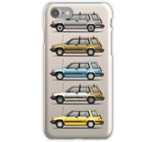 Stack Of Mark's Toyota Tercel Al25 Wagons iPhone Case/Skin