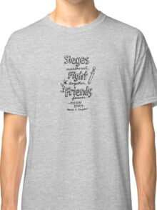 Poison Study Quote Design Classic T-Shirt