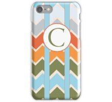 C Chevron iPhone Case/Skin