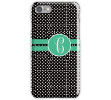 C Polks Dot iPhone Case/Skin