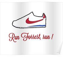 Run Forrest, run! Poster