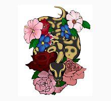 Floral Ball Python Unisex T-Shirt