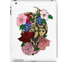 Floral Ball Python iPad Case/Skin