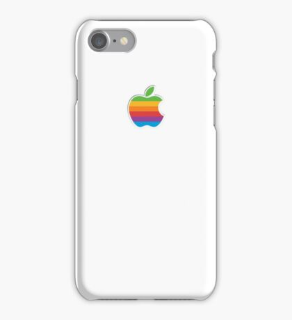 Retro Apple Logo Phone and Laptop Cases iPhone Case/Skin