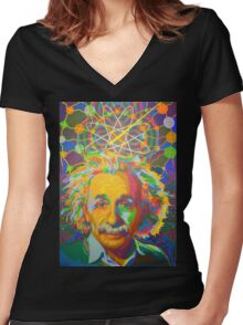 Genius - 2016 Women's Fitted V-Neck T-Shirt