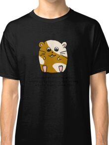 Hamster's messing up science Classic T-Shirt