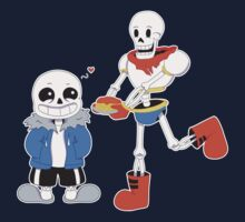 Sans and Papyrus - Undertale Kids Tee