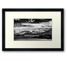 Queenstown Lake Wakatipu Framed Print