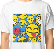 Simple Emojis | Pattern Classic T-Shirt