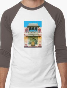 Palace courtyard facade Men's Baseball ¾ T-Shirt