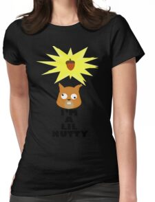 Nutty Womens Fitted T-Shirt