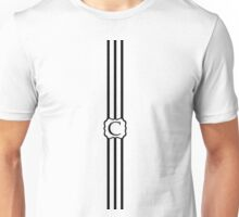 C Turquoise Chevron II Unisex T-Shirt