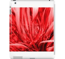 Red weed iPad Case/Skin