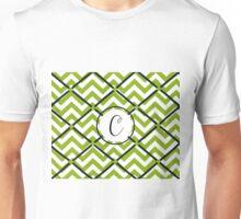 Awesome chevron C Unisex T-Shirt