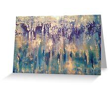 iridescent blues  Greeting Card