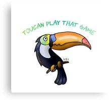 toucan play Canvas Print