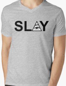 SLAY  Mens V-Neck T-Shirt