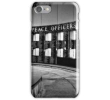 Texas Peace Officers Memorial iPhone Case/Skin