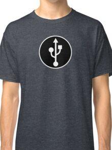 USB SYMBOL - Alternate Classic T-Shirt