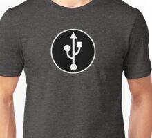 USB SYMBOL - Alternate Unisex T-Shirt