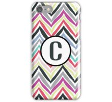 C Chevrony iPhone Case/Skin