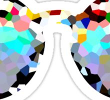 Pixelated Sunglasses Sticker