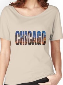 Chicago (Night) Women's Relaxed Fit T-Shirt