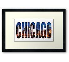 Chicago (Night) Framed Print