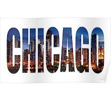 Chicago (Night) Poster