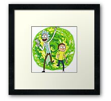 /*/Rick and Morty/*/ Framed Print