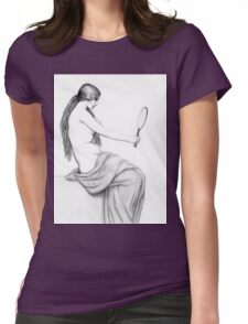 Reflection of beauty Womens Fitted T-Shirt