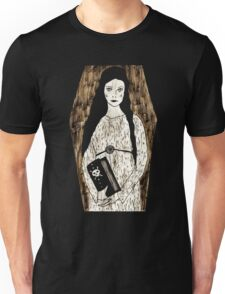 Lady in White by Allie Hartley  Unisex T-Shirt