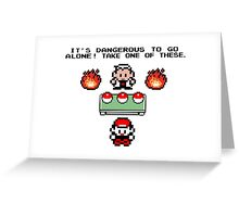 Zelda Pokemon Greeting Card