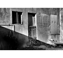 Bicycle Parking Photographic Print