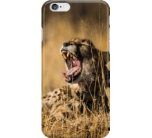 tired as hell iPhone Case/Skin